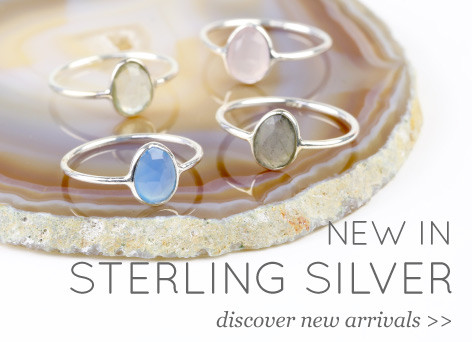 New in Sterling Silver - discover new arrivals >>