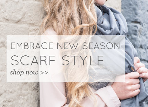 Embrace new season scarf style - shop now >>
