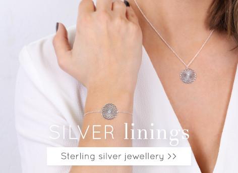 Silver linings - sterling silver jewellery >>