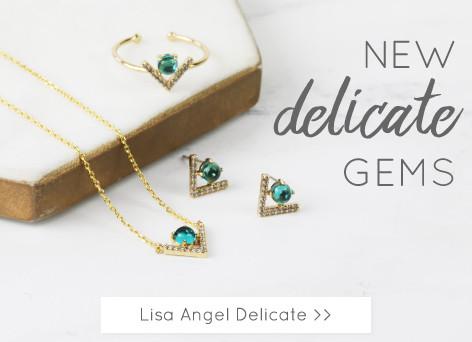 Lisa Angel Delicate Jewellery - Shop delicate pendant jewellery >>