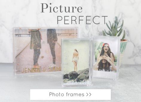 Photo frames - Shop photo displays >>
