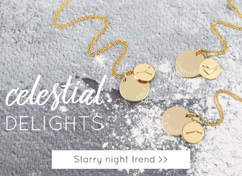 Starry night jewellery and homeware trend - Shop celestial themed jewellery and homeware >>