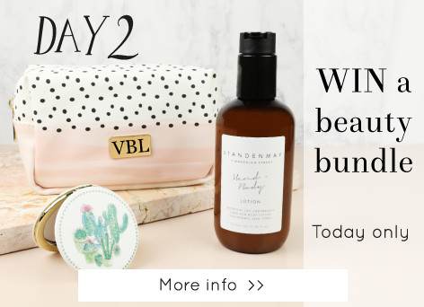 Win a beauty bundle - Lisa Angel 12 days of Christmas >>