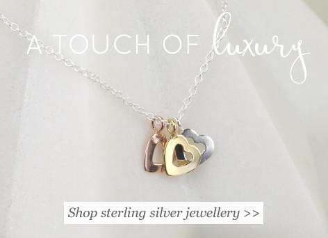 A touch of luxury - shop sterling silver jewellery >>