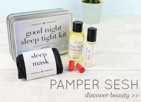 Pamper sesh - discover beauty >>