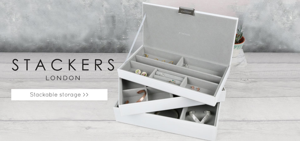 Stackers London jewellery boxes - Shop innovative storage solutions >>
