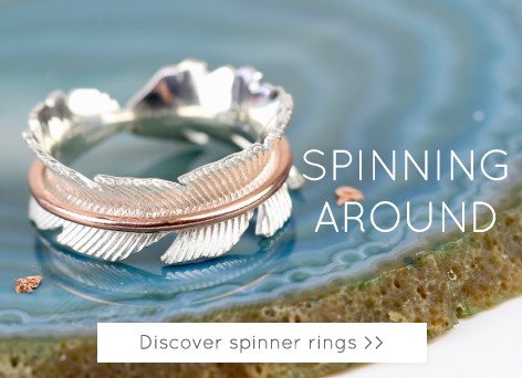 Shop spinner rings - Discover spinning rings >>