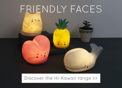 Friendly faces - Discover the hi-kawaii range >>