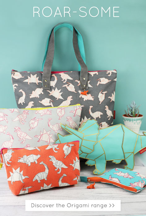 Dinosaur accessories - shop house of disaster origami range >>
