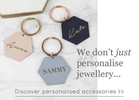 Personalised keyrings - Shop personalised accessories >>