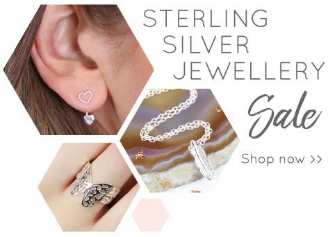 Ladies' sterling silver jewellery - shop sterling silver jewellery sale >>