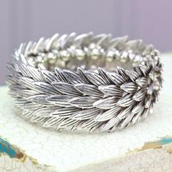 Silver Cleopatra Bracelet