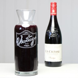 Personalised Family Wine Carafe