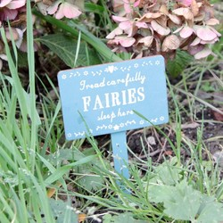 Sass & Belle 'Fairies Sleep Here' Sign