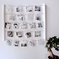 Umbra White 'Hangit' Photo Display