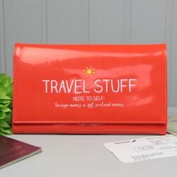 Happy Jackson 'Travel Stuff' Travel Wallet