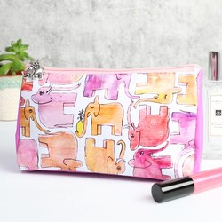 Elephant Make Up Bag
