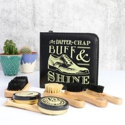 Dapper Chap Shoe Buff & Shine Kit