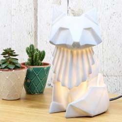 Disaster Designs Nordikka Grey Origami Fox Lamp