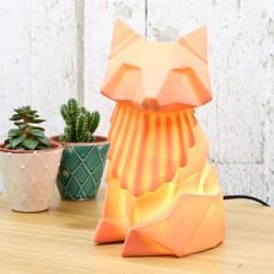 Disaster Designs Nordikka Orange Origami Fox Lamp