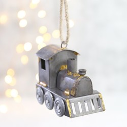 Industrial Metal Train Hanging Decoration