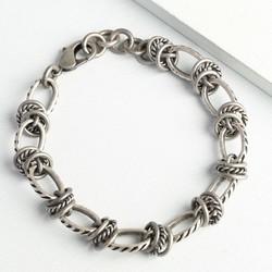 Men's Twisted Metal Bracelet