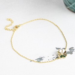 Estella Bartlett Gold Lucky Clover Bracelet