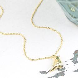 Estella Bartlett Small Gold Robin Pendant Necklace