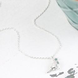 Estella Bartlett Small Silver Robin Pendant Necklace