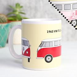 Campervan Heat Change Mug