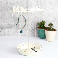Birds on a Wire Jewellery Stand