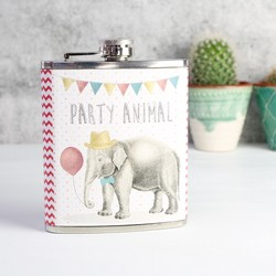 Sass & Belle Party Elephant Hip Flask