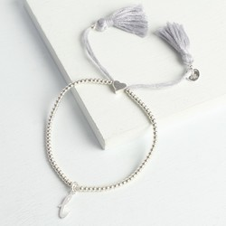 Personalised Dainty Links Bracelet with Initial