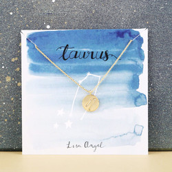 Gold Constellation Pendant Necklace