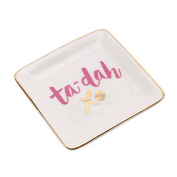 'Ta-Da' Ceramic Ring Dish