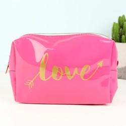Oh So Pretty 'Love' Arrow Make Up Bag