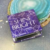 'Shine Bright' Compact Mirror