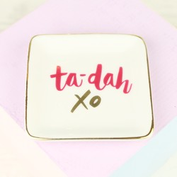 'Ta-Da' Ceramic Ring Dish