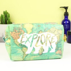 The Great Outdoors 'Explore' Wash Bag