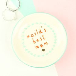 World's Best Mum Ring Dish
