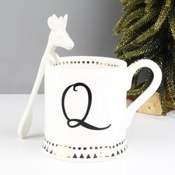 Ceramic Reindeer Spoon