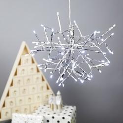 Silver Star Burst Light