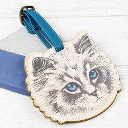 House of Disaster Meow Luggage Tag