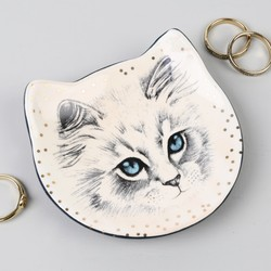 House of Disaster Meow Trinket Dish