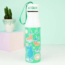 House of Disaster Moomin Pattern Flask