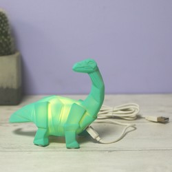 House of Disaster Mini LED Diplodocus Dinosaur Night Light