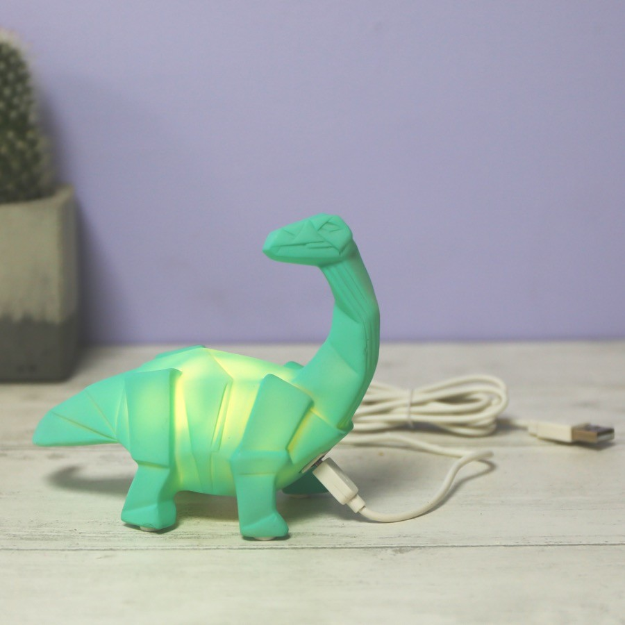 Gold And Silver Wall Art House of Disaster | Mini LED Diplodocus Night Light | Lisa ...