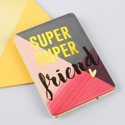 House of Disaster Ta-Daa 'Super Duper Friend' Compact Mirror