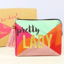 House of Disaster Ta-Daa 'Pretty Lady' Pouch