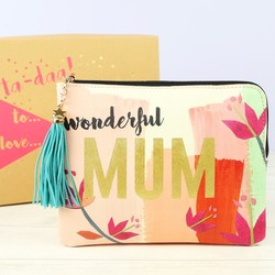 House of Disaster Ta-Daa 'Wonderful Mum' Pouch